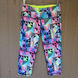 Victorias Secret VSX multicolor Capri leggings